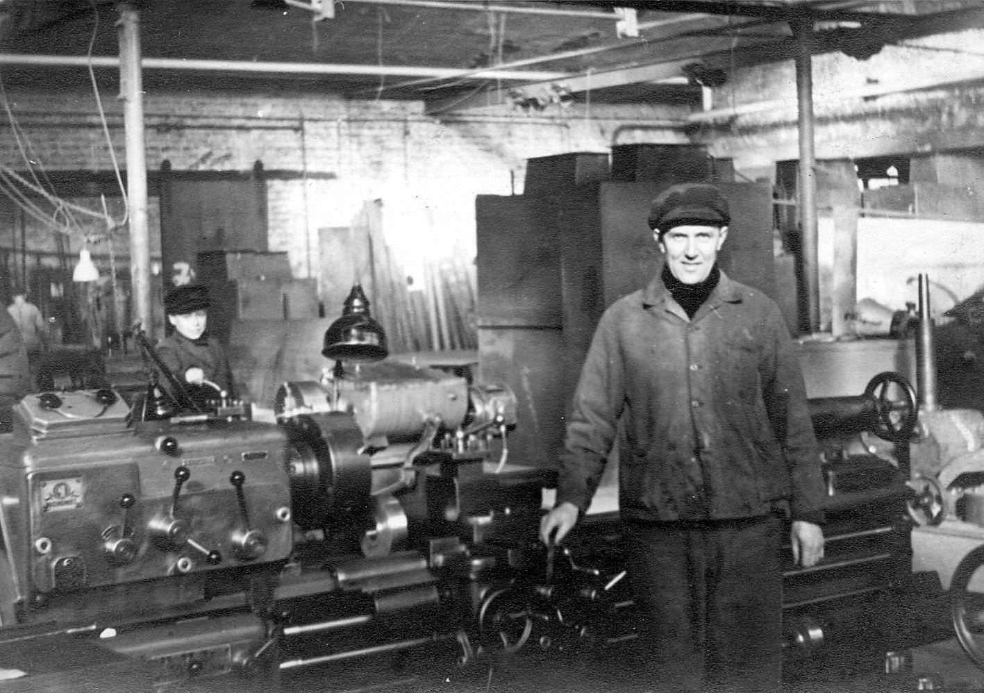 Der erste Angestellte: Clemens Schmees