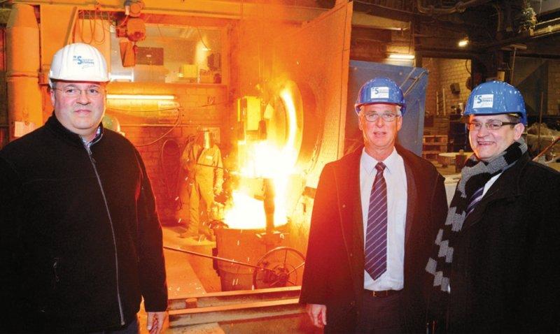 Die Edelstahlwerke Schmees haben sich für den Strom der Stadtwerke Langenfeld entschieden.