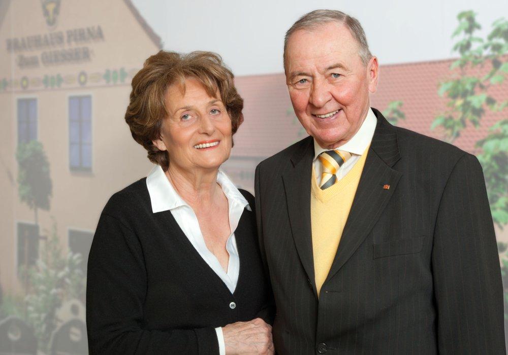 Die Firmengründer: Sigrid und Dieter Schmees