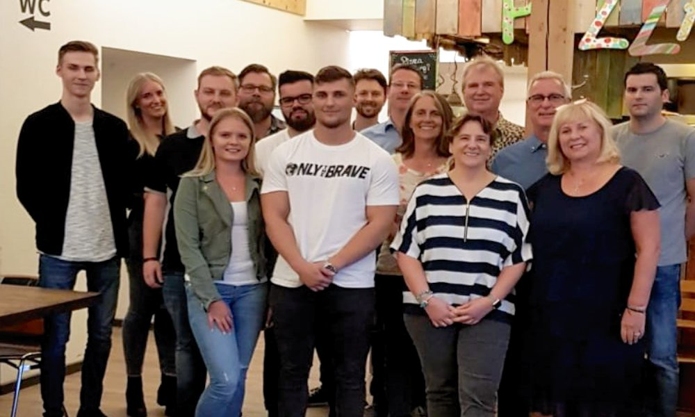 SCHMEES cast Ausbildungsessen in Langenfeld 2019